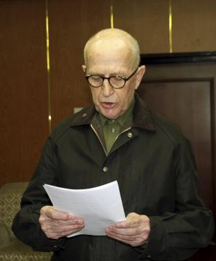 Nhà truyền giáo người Úc John Short, 75 tuổi sẽ bị trục xuất khỏi Triều Tiên. Ảnh: Reuters