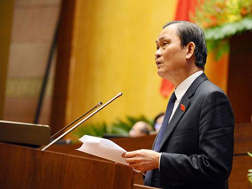 Bộ trưởng Nội vụ Nguyễn Thái Bình: Đó là do sử dụng công chức chưa đúng trình độ, xử phạt không nghiêm.