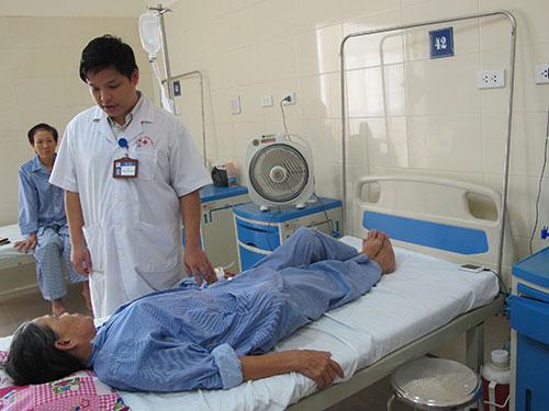 Tình trạng nằm ghép ở Bệnh viện K trung ương đã cải thiện so với trước đây