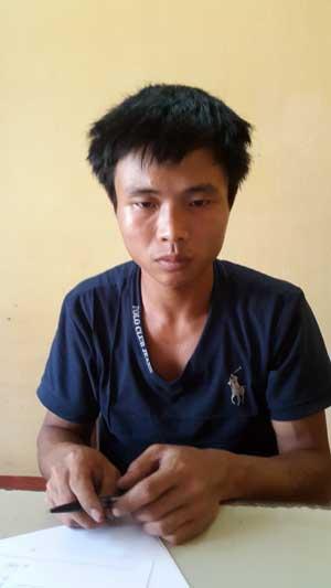 Nguyễn Văn Toàn tại cơ quan điều tra.