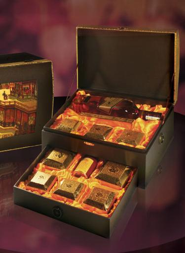Bánh trung thu đắt nhất của nhà hàng Long Đình có giá hơn 4 triệu đồng/hộp.