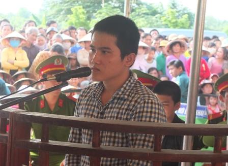 Bị cáo Nguyễn Văn Nhựt Trường lãnh mức án tù chung thân