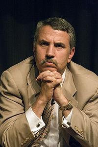Hình ảnh nhà báo Thomas L.Friedman trên Wikipedia