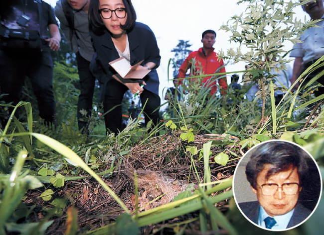 Cảnh sát đang điều tra lọn tóc và mảnh xương được cho là của Yoo Byung-eun tại Suncheon