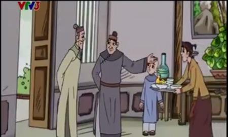 Cảnh trong câu chuyện Nhặt xương cho thầy thuộc chương trình Quà tặng cuộc sống
