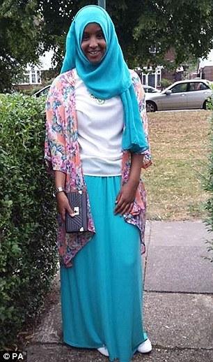 Yusra Hussien, 15 tuổi, từ TP Bristol - Anh rời khỏi nhà hồi tháng 9 để đến Syria. Ảnh: PA