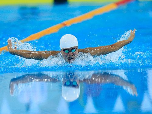 Ánh Viên là niềm hy vọng vàng của thể thao Việt Nam tại Á vận hội Incheon 2014 ở Hàn Quốc Ảnh: Quang Liêm