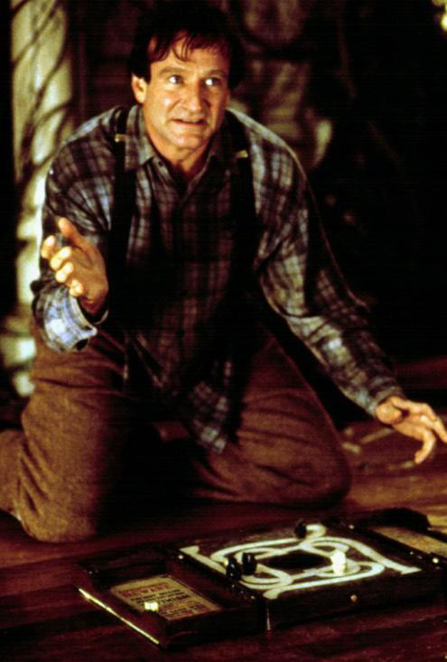 Robin vai Alan Parrish trong phim Jumanji.
