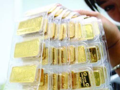 Lượng tiêu thụ vàng của Việt Nam không giảm. Ảnh: Lê Toàn.