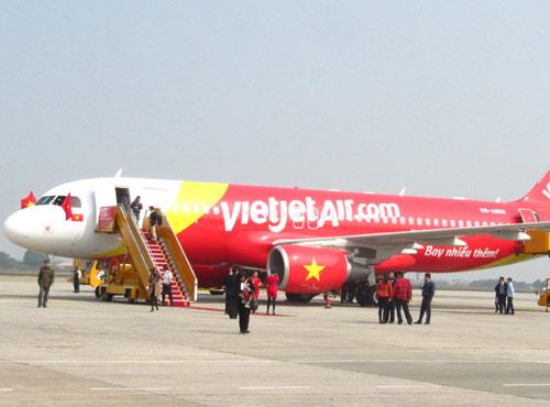Máy bay của hãng hàng không VietJet