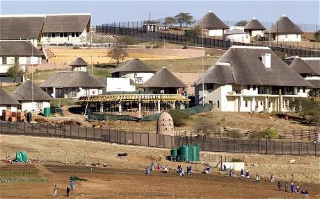 Nhà ở của Tổng thống Nam Phi Jacob Zuma. Ảnh: Reuters