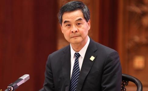 Đặc khu trưởng Hồng Kông Lương Chấn Anh kiên quyết không nhượng bộ. Ảnh: SCMP