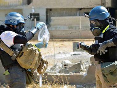 Việc tiêu hủy vũ khí hóa học ở Syria đang gặp trở ngại. Ảnh: AP