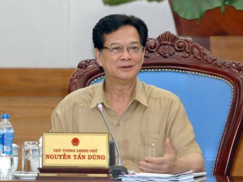 Thủ tướng Nguyễn Tấn Dũng yêu cầu mạnh dạn hơn trong việc giao quyền tự chủ cho các trường ĐH Ảnh: NHẬT BẮC