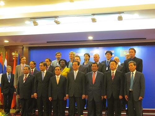 Các nước thành viên MRC nhất trí thông qua Tuyên bố TP HCM