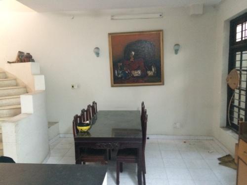 Khu vực phòng ăn trước khi cải tạo.