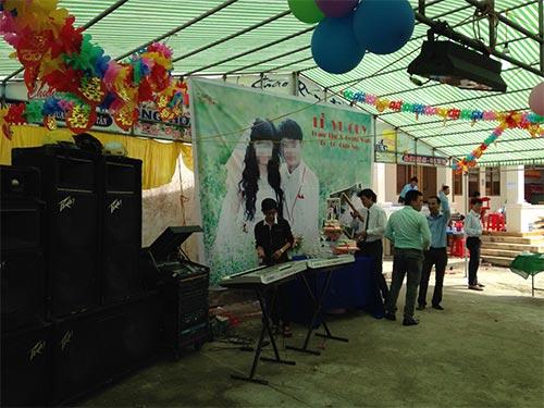 Lễ cưới con gái vị thành niên của chủ tịch UBND xã Phú Thuận, huyện Phú Tân, tỉnh Cà Mau ngày 11-7