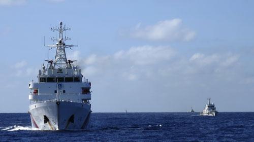 Phía Trung Quốc xác nhận đã rút giàn khoan Hải Dương 981 khỏi lô dầu khí 143 trên thềm lục địa của Việt Nam Ảnh: REUTERS