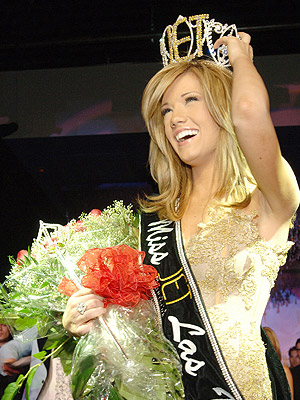 Katie Rees tươi tắn khi đăng quang Miss Nevada