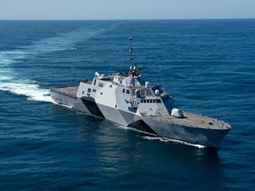 Tàu chiến ven bờ USS Freedom Ảnh: US NAVY