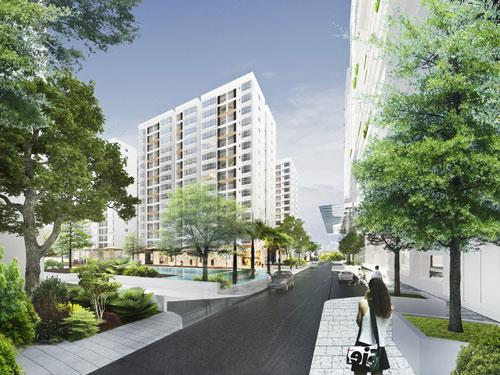 Phú Mỹ Hưng khai trương nhà mẫu căn hộ Scenic Valley