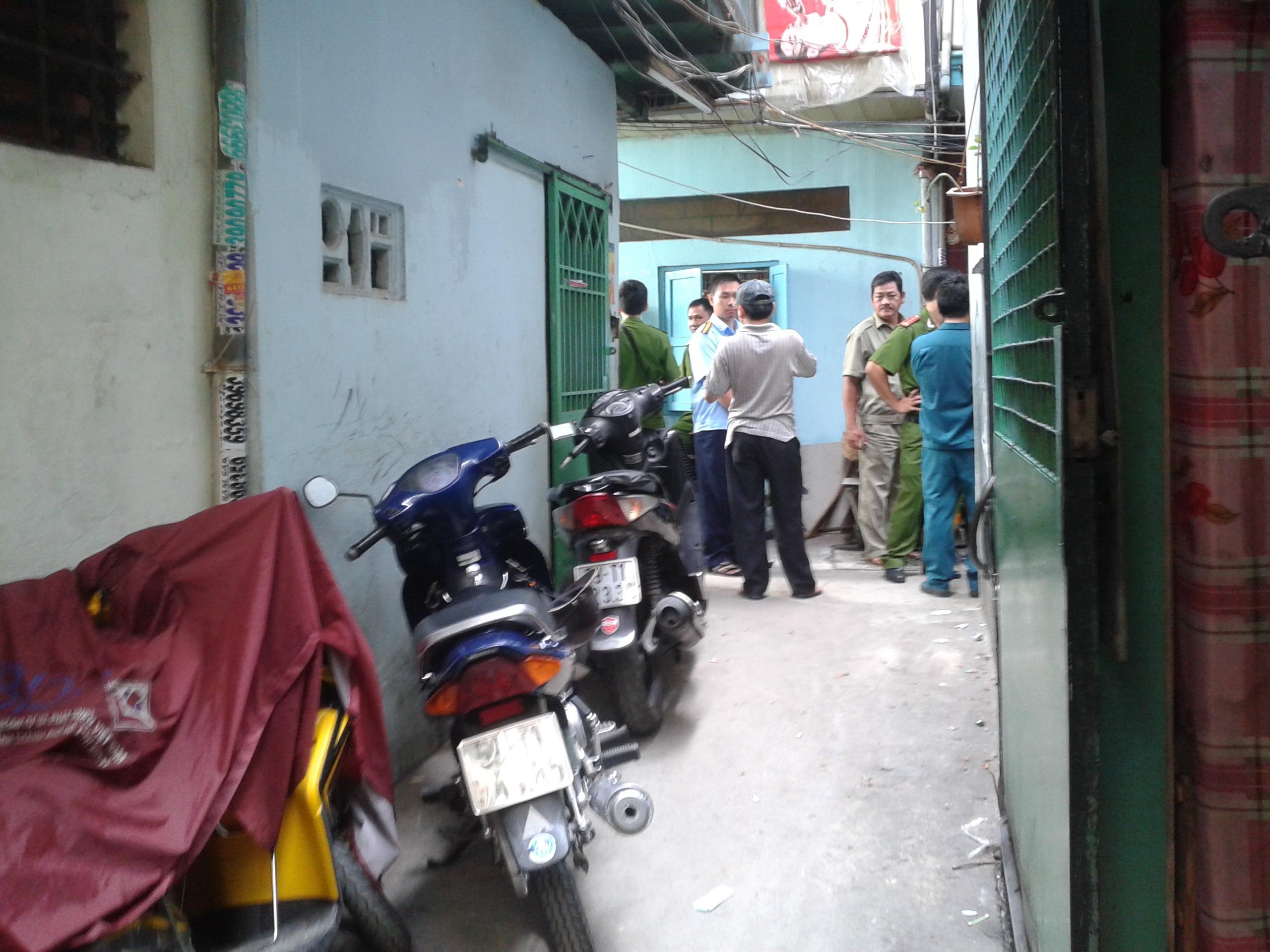 Hẻm TK 53 Nguyễn Cảnh Chân, phường Cầu Kho, quận 1