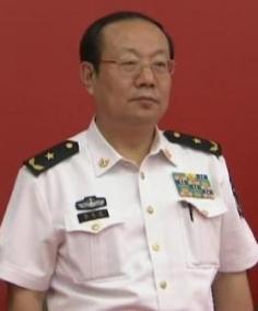 Phó Đô đốc Ma Faxiang, phó chỉ huy Hải quân Trung Quốc. Ảnh: SCMP