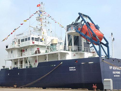 Tàu VP Asphalt 2. (Ảnh do Vietnam MRCC cung cấp)