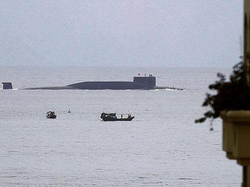Tàu ngầm hạt nhân lớp Tấn (Jin) của Trung QuốcẢnh: AP