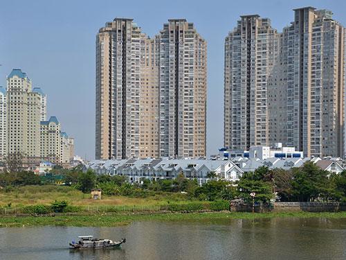 Thông tin cho phép người nước ngoài mua nhà sẽ tác động tích cực đến thị trường bất động sản. Trong ảnh: Một dự án nhà ở tại quận Bình Thạnh, TP HCM Ảnh: Tấn Thạnh