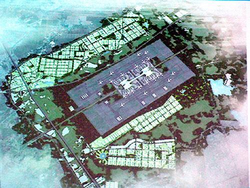 Mô hình sân bay quốc tế Long Thành