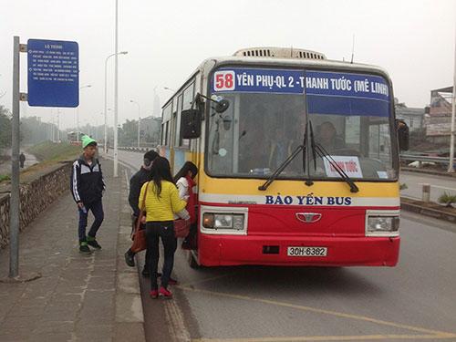 Việc tăng giá vé xe buýt sẽ giúp TP Hà Nội bớt gánh nặng trợ giá