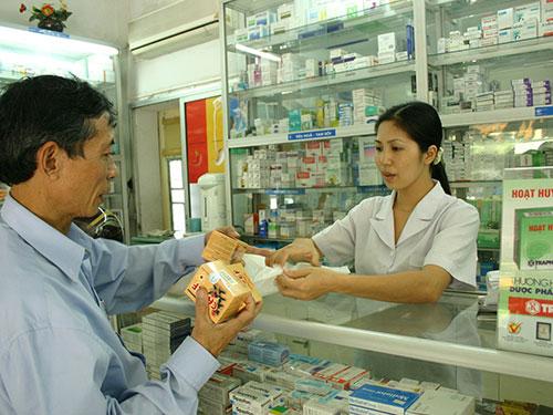 Thuốc - mặt hàng mà người mua hiếm khi trả giá