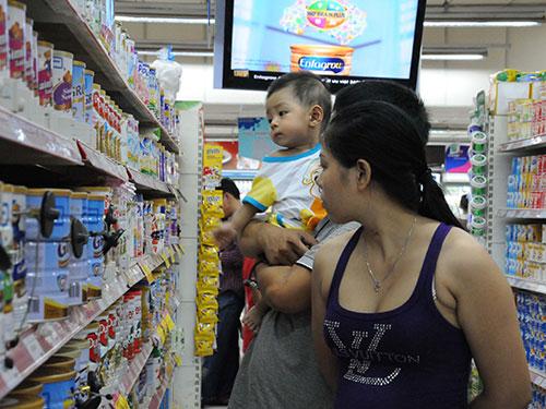 Giá sữa chưa được quản lý tốt trong thời gian quaẢnh: Hồng Thúy