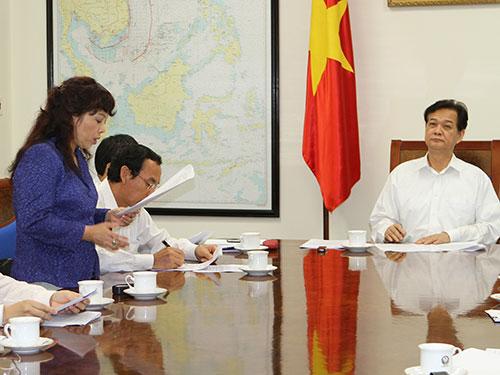 """Bộ trưởng Bộ Y tế Nguyễn Thị Kim Tiến cho biết """"không thiếu thứ gì"""" trong phòng chống dịch sởi. Ảnh: Nhật Bắc"""