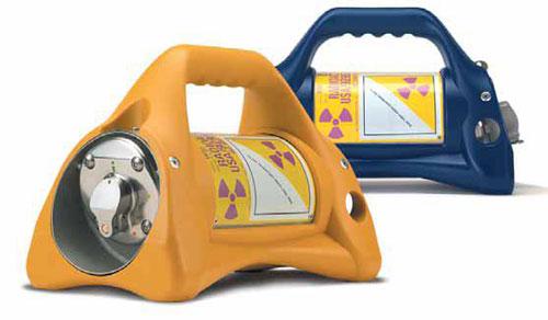 Hình dáng thiết bị chứa phóng xạ bị mất (Ảnh do cơ quan chức năng cung cấp)
