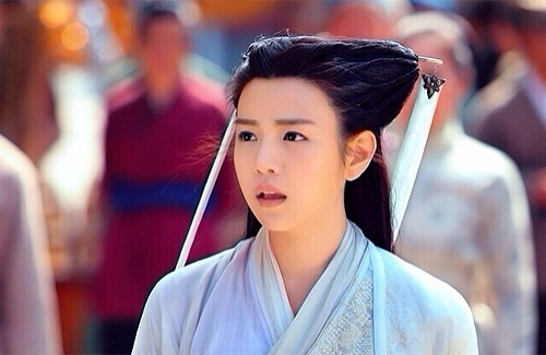 Trần Nghiên Hy trong vai Tiểu Long Nữ phim Thần điêu đại hiệp phiên bản 2014