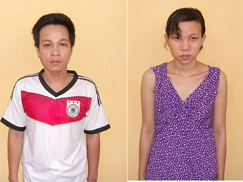 Đỗ Trọng Minh và Nguyễn Thị Thùy Trang
