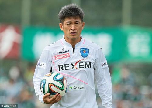Kazu Miura - cầu thủ chuyên nghiệp lớn tuổi nhất thế giới