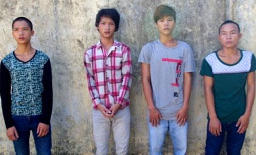 4 thanh niên bị khởi tố để điều tra về hành vi giết người