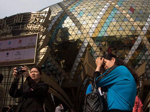Thiên đường cờ bạc Macau Ảnh: Reuters
