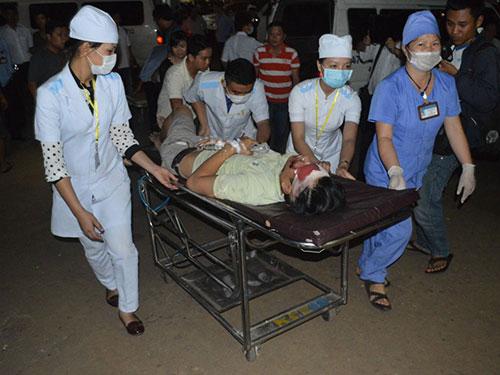 Một nạn nhân trong vụ tài xế xe khách nghiện ma túy tông xe máy làm 13 người thương vong ngày 1-10 tại Đắk Lắk Ảnh: CAO NGUYÊN