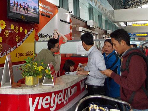 Hãng Hàng không VietJet Air khuyến cáo hành khách kiểm tra thông tin vé máy bay qua tổng đài 19001886 hoặc website vietjetair.com để tránh bị lừa đảo