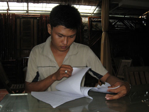 Đơn yêu cầu bồi thường thiệt hại do oan sai của Tô Phương Trọng chưa được VKSND tỉnh Cà Mau chấp nhận