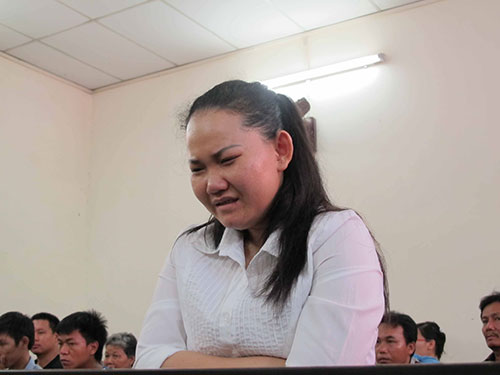 Bị cáo Hồ Ngọc Nhờ tại phiên tòa sơ thẩm ngày 30-5