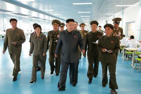 Sức khỏe của ông Kim dường như có vấn đề khi nhà lãnh đạo 31 tuổi này đã không xuất hiện trước công chúng hơn 20 ngày qua. Ảnh: Xinhua