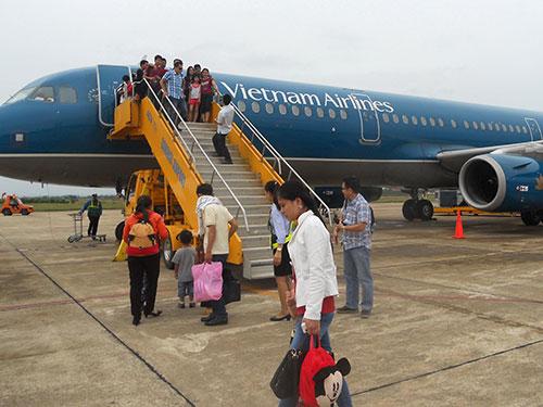 Từ giữa tháng 5 đến giữa tháng 6-2014, Vietnam Airlines đã có hơn 42.000 chỗ bị hủy, tương đương gần 170 chuyến bay  Ảnh: TẤN THẠNH