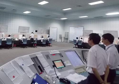 Các nhân viên kiểm soát không lưu tại ACC - HCM