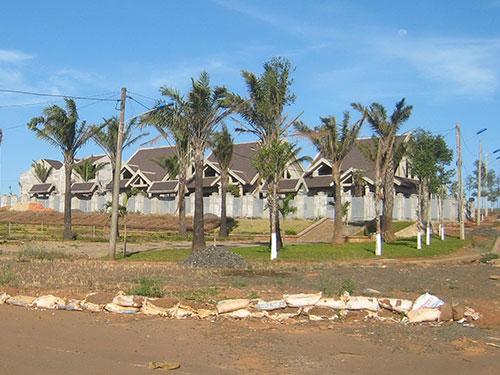 Khu đô thị cầu Sắt - một trong những dự án ở tỉnh Gia Lai bị phát hiện có sai phạm trong quá trình giao đất Ảnh: Hoàng Thanh