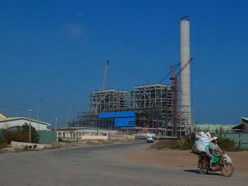 Nhà máy Nhiệt điện Duyên Hải 1- nơi có nhiều lao động là người Trung Quốc đang làm việc không phép